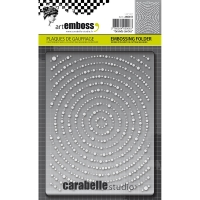 Embossing Folder Grands cercles