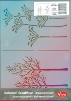 Universal-Schablone Herbst-Impressionen
