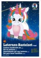 Laternen-Bastelset Einhorn II