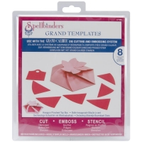 Spellbinders Hexagonal Pinwheel Top Box