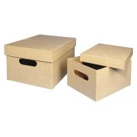 Pappmaché Sammelbox klein