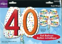 Folienballon 40