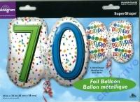 Folienballon 70
