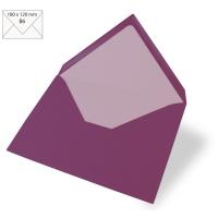 Kuvert B6 180x120mm 90g purple velevet
