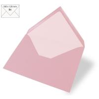 Kuvert B6 180x120mm 90g rosé