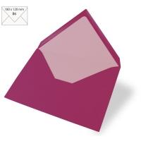 Kuvert B6 180x120mm 90g red magma