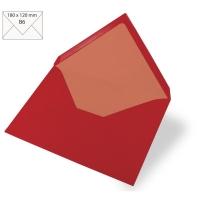 Kuvert B6 180x120mm 90g kardinalrot