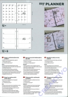 Monats- und Wochenübersicht basic, undatiert A5