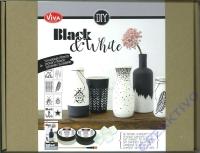 Black &White Set Keramikeffekt