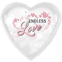 Folienherz Endless Love