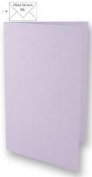 25 Karten B6 232x168mm 220g lavendel (Restbestand)