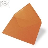 25 Kuverts B6 180x120mm 90g mandarine (Restbestand)