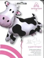 Folienballon Gefleckte Kuh