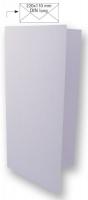 25 Karten DIN lang 210x210mm 220g lavendel (Restbestand)