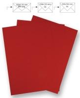 50 Briefbogen A4 210x297mm 90g klassikrot (Restbestand)