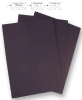 50 Briefbogen A4 210x297mm 90g pflaume (Restbestand)