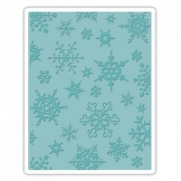Sizzix Texture Fades Embossing Folder - Simple Snowflakes