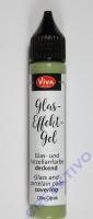 Glas-Effekt-Gel oliv-opak