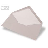 Kuvert DIN lang 220x110mm 90g taupe