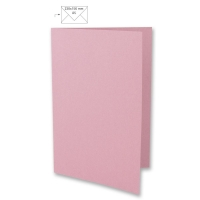 Karte A5 297x210mm 220g rosé