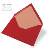 Kuvert A5 220x156mm 90g kardinalrot