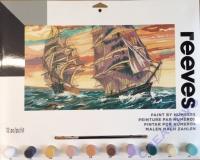 Malen nach Zahlen Segelschiffe