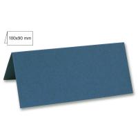 Tischkarte doppelt 100x90mm 220g dunkeltürkis