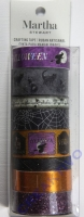 Martha Stewart Crafts Halloween Washi Tape 8 Assorted Rolls - Witching Hour Purple Happy Halloween