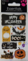 SandyLion Essentials Dimensional Stickers - Happy Halloween
