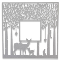 Sizzix Thinlits Die - Forest Frame