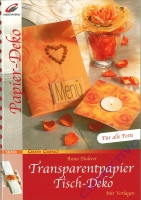 Transparentpapier Tisch-Deko