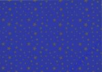 Sternchen-Fotokarton 300g/qm 49,5x68cm königsblau