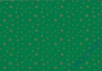 Sternchen-Fotokarton 300g/qm 49,5x68cm tannengrün