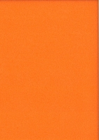 Bastel-Velourspapier 20x30 cm orange Velourpapier