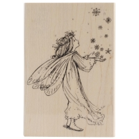 Penny Black Mounted Rubber Stamp 3.5X5 - Magic of christmas