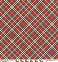 A Perfect Christmas Double-Sided Cardstock 12X12 - Perfect Plaid
