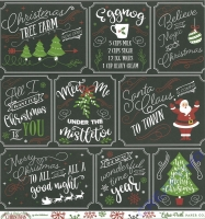 A Perfect Christmas Double-Sided Cardstock 12X12 - Multi journaling cards