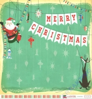 A Very Merry Christmas Double-Sided Cardstock 12X12 - Merry Christmas