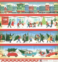A Very Merry Christmas Double-Sided Cardstock 12X12 - Border Strips