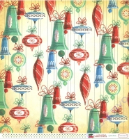 A Very Merry Christmas Double-Sided Cardstock 12X12 - Christmas Bells