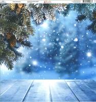 Ella & Viv Blue Christmas Single-Sided Cardstock 12X12 - Winter Wonderland