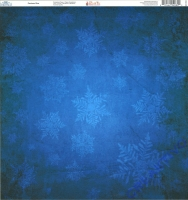 Ella & Viv Blue Christmas Single-Sided Cardstock 12X12 - Cerulean Blue