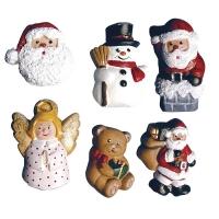 Gießform Weihnachtsfiguren