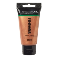 Reeves Acrylic 75ml bronze