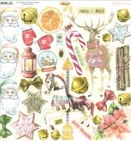Bo Bunny Scrapbooking Papier Christmas Wonder