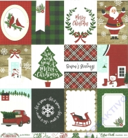 A Perfect Christmas Double-Sided Cardstock 12X12 - 3x4 journaling cards