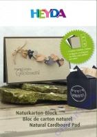 Naturkarton Block A4