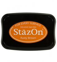 StazOn Stempelkissen Rusty Brown