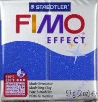 Fimo Effekt Modelliermasse 57g glitter blau