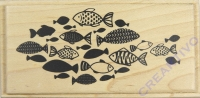 Stempel Fischschwarm